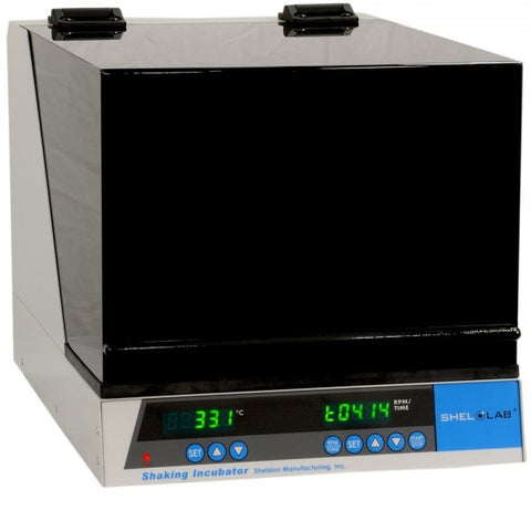 30 to 400 RPM, 120V, Compact Shaking Incubator