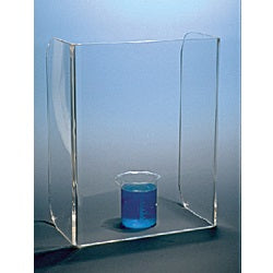 Large U Frame Safety Shield - Acrylic