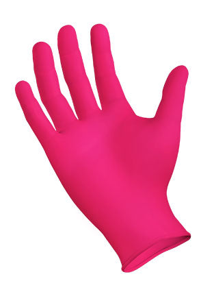StarMed® Rose Powder Free Disposable Nitrile Gloves - 200 Gloves