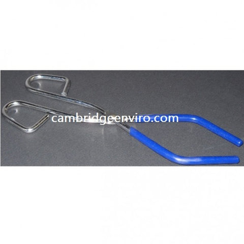 250mm Beaker Tongs - Plastisol Covered Jaws | Cambridge Environmental
