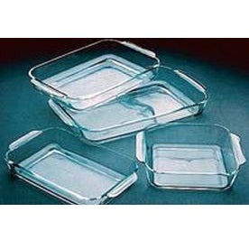 2000ml Capactiy Glass Tray
