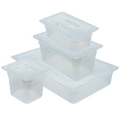 5.3L Transluscent Polypropylene Tray with Lid