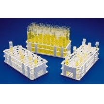 60 Place, Polypropylene, Test Tube Grip Rack