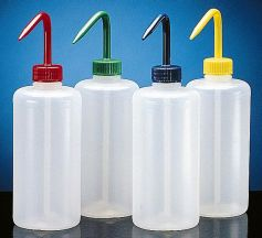 500ml LDPE Wash Bottle - Colour Coded Caps