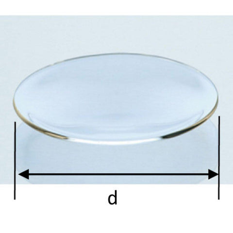 75mm Diameter Watch Glass - Borosilicate Fire Polished | Cambridge Environmental
