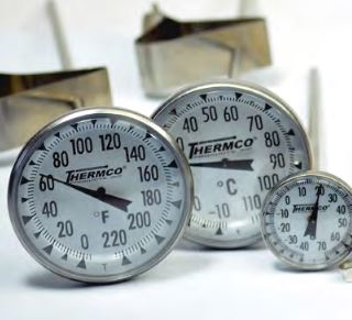 Thermometer -40 to 70'C Bi-Metal Dial