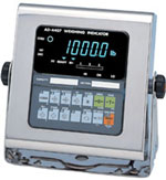A&D Weighing AD-4407 Stainless Steel  Washdown Digital Weighing Indicator Legal For Trade Canada AM-5661