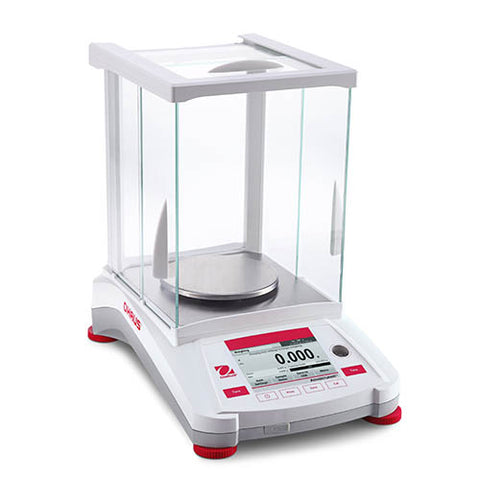 AX124 Ohaus Adventurer Analytical Balance 120g x 0.1mg with AutoCal
