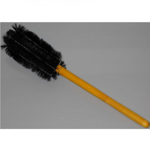 "16"" Length, Double Tufted, Black Nylon Beaker Brush 