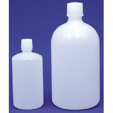 8 Liter Capacity, Heavy Walled, LDPE Narrow Mouth Bottle