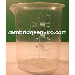 2000ml Capacity, Polymethylpentene Beaker