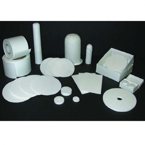 125mm Diameter, Fast Flow Rate, 1 µm, Glass Microfiber Filter Paper, 100 Circles