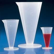 500ml Capacity, Polypropylene, Conical Cylinder