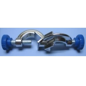 21mm Diameter, Aluminium Zinc, Fixed Clamp Holder