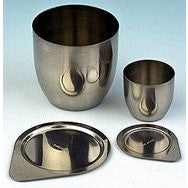 50ml Capacity, High Form, Nickel Crucible with Lid