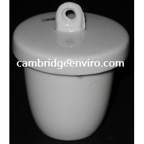 15ml High Form Crucible with Lid