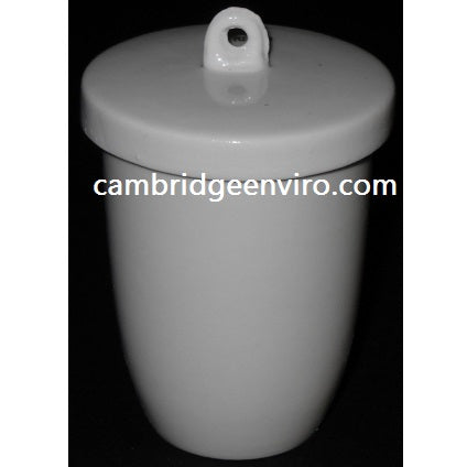 50ml High Form Crucible with Lid