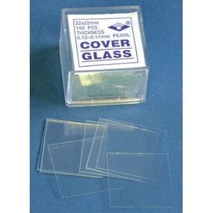 18 x 18mm, Square Cover Slips