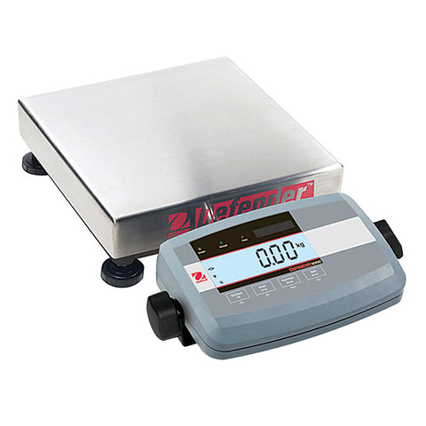 Ohaus Defender 5000 Low Profile Square Series 25Lbs/10kg x 0.005Lbs/2g 1 Year Warranty