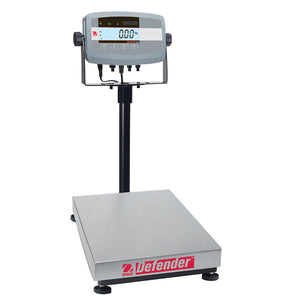 Ohaus Defender 5000 D51P250QX2  Square Bench Scale 250kg x 0.5kg | Cambridge Environmental
