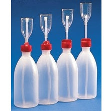 500ml Bottle, Polyethylene/PMP, Adjustable Plastic Dispenser