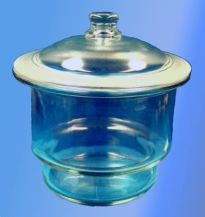 200mm Diameter, Scheibler, Plain, Glass Desiccator