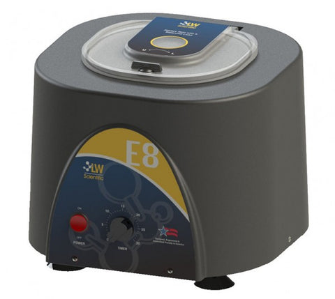 E8C-U8AF-1503 Fixed Speed Angled 8 Place Centrifuge With Timer