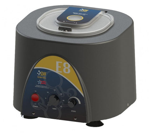 E8C-U8AV-1503 Variable Speed Angled 8 Place Centrifuge With Timer