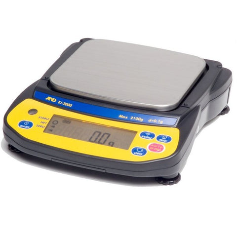 A&D SK-5001WP - 5000g x 1g Washdown Bench Scale