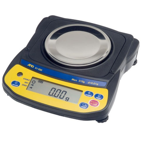 A&D GF-1202A - 1200g x 0.01g Precision Balance | Cambridge Environmental