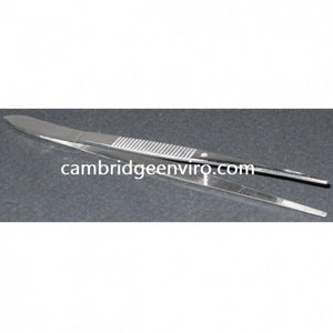 Stainless Steel Forceps - Medium Point Serrated Tips