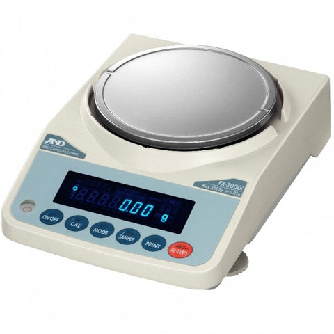 A&D Weighing  FX-3000INC Table Top High Precision Balance Legal for Trade Canada AM-5692