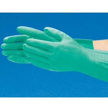 330mm Length, Large, Ansell Sol-Vex® Nitrile Chemical Resistant Gloves