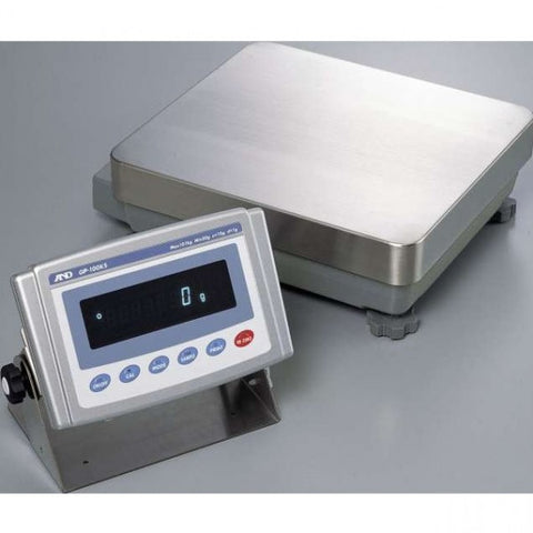 A&D GP-100KS 101kg x 1.0g - Washdown Precision Industrial Balance | Cambridge Environmental