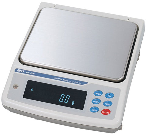 A&D GF-123A - 120g x 0.001g Precision Balance | Cambridge Environmental
