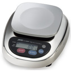 A&D HL-300WP - 300g x 0.1g Washdown Compact Scale 2 Year Warranty