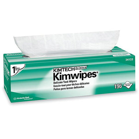 300 x 300mm Kimwipes Cleaning Tissues - 196 Sheets