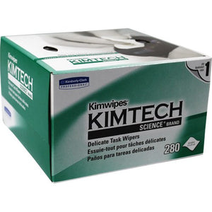 Kimwipes Cleaning Tissues - 114 x 216mm, 280 Sheets per Box