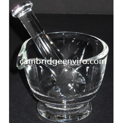 30ml Capacity Glass Mortar & Pestle Set