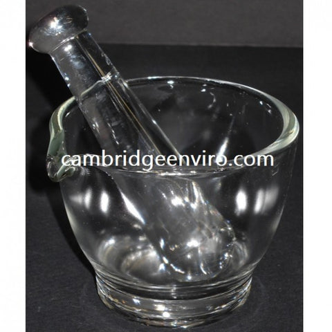 60ml (2oz) Glass Mortar & Pestle Set