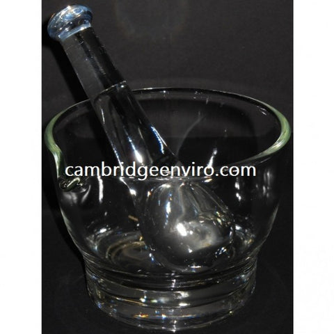 500ml Capacity Glass Mortar & Pestle Set