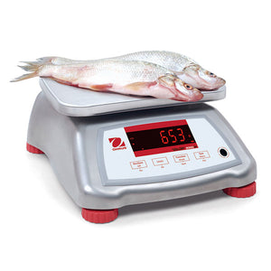 Ohaus V22XWE30T - 30 kg x 5 g Washdown Food Scale
