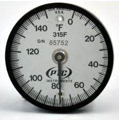 Thermometer -15 to 65'C Bi-Metal Dial, Dual Magnet Surface