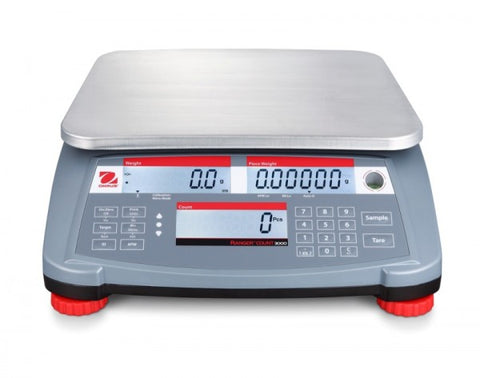 Ohaus Ranger 3000 Count Series 15Lbs / 6kg x 0.005lbs / 2g 1 year warranty