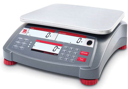 Ohaus Ranger 4000 - RC41M6 6kg x 2g Legal For Trade Counting Scale | Cambridge Environmental