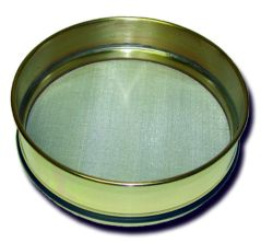 No. 120 US. Standard Opening, 125 Microns, Full Height, Brass Sieve