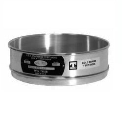No. 40 US. Standard Opening, 5203 Microns, Full Height, Stainless Steel Sieve