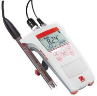Ohaus ST300C-B Portable EC Meter with Conductivity Standards, No Electrode