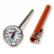 Thermometer -10 to 110°C  Bi-Metal Dial Pocket Sized