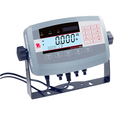 OHAUS T71P 7000 Series Weighing Scale Indicator ABS housing